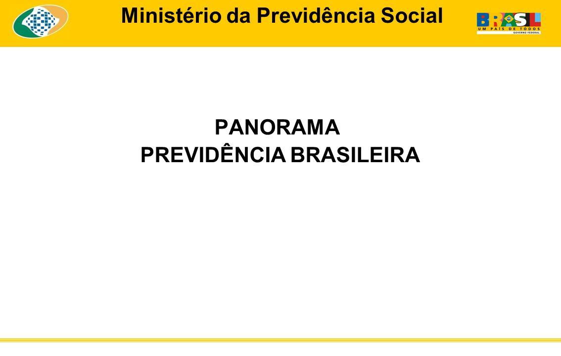 Ministério da Previdência Social PANORAMA PREVIDÊNCIA BRASILEIRA