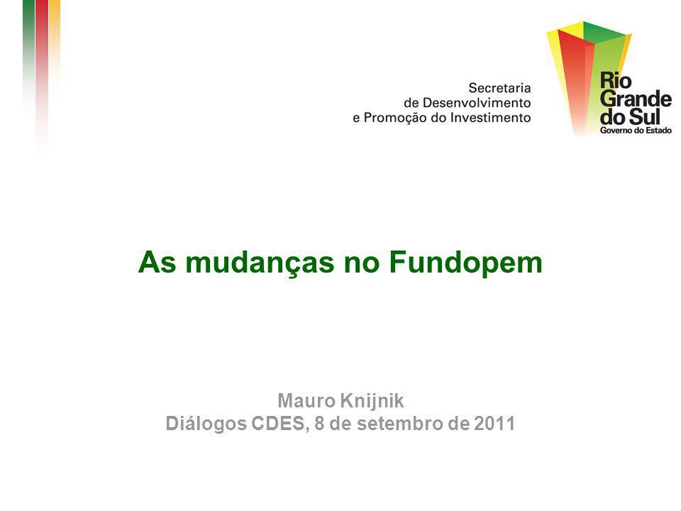 O Sistema de Desenvolvimento Econômico do RS, coordenado pela SDPI, está construindo um plano de desenvolvimento.