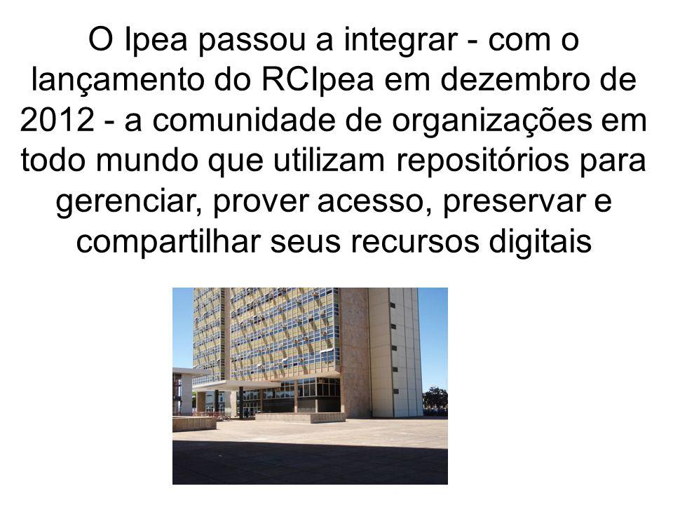 Ação 04: Inserir no RCIpea 100% dos documentos resultantes da participação de servidores do Ipea em eventos no Brasil e no exterior nos anos de 2012 e 2013
