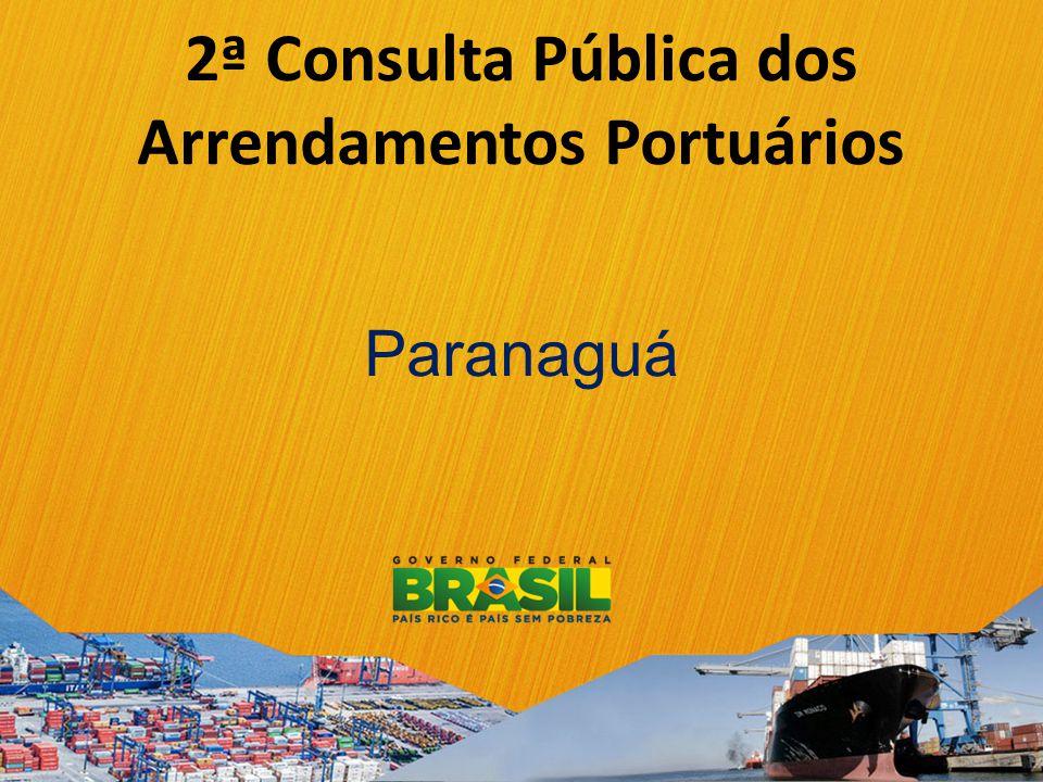 2ª Consulta Pública dos Arrendamentos Portuários Paranaguá