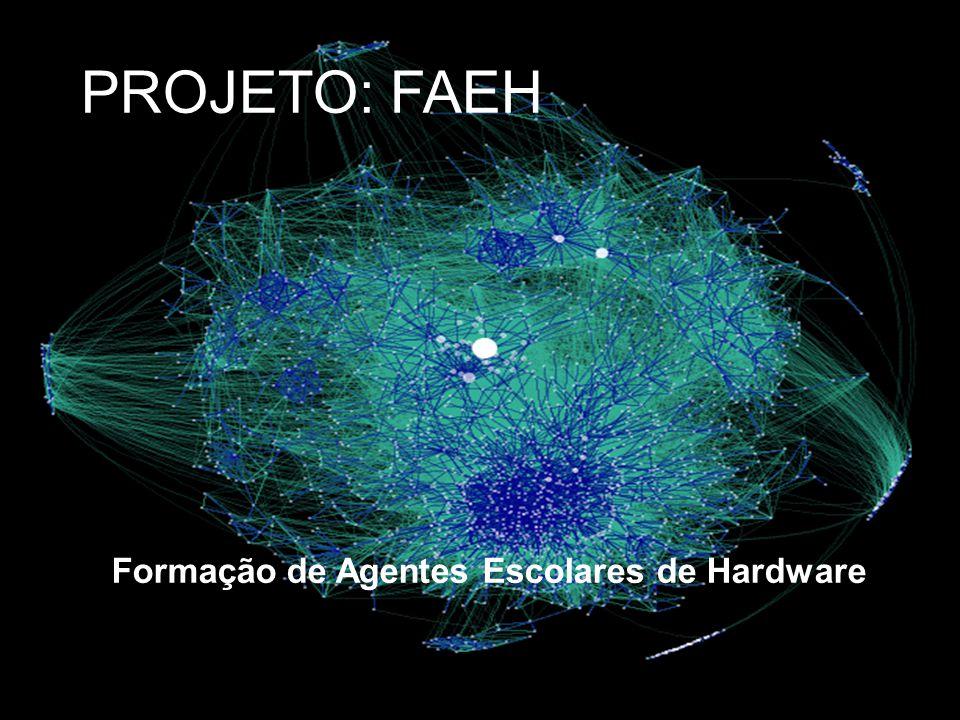 Situação Atual no Mundo e no Brasil Formação de Agentes Escolares de Hardware PROJETO: FAEH