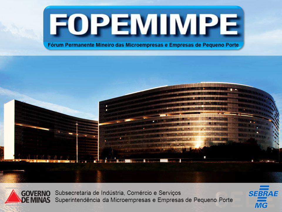 Desenvolvimento Título da Proposta: Participação das MPEs nas Compras Públicas Diagnosticar o Cenário atual das Compras Governamentais em Minas Gerais.