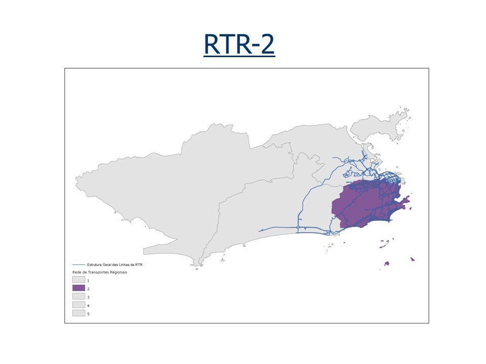 RTR-2 __________ _________ _ LINHAS RECLAMADAS Percentual de Linhas Reclamadas: 36,36% Intra-Região: 39,65% Inter-Região: 33,33% Região Centro: 33,33% __________________________________________________________________________________________________________________ A RTR-2 possui o total de 121 linhas.