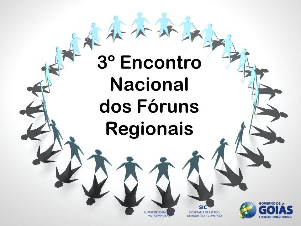 3º Encontro Nacional dos Fóruns Regionais