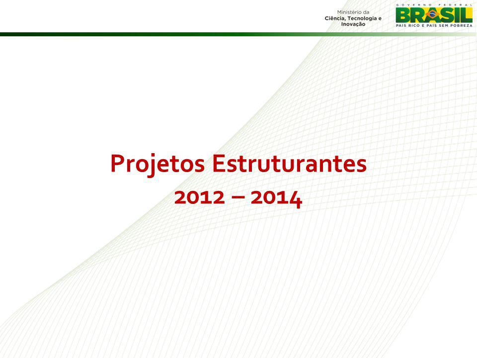 Projetos Estruturantes 2012 – 2014