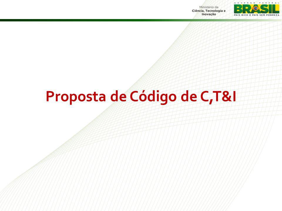Proposta de Código de C,T&I