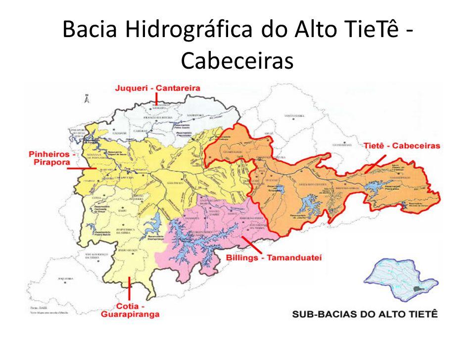 Bacia Hidrográfica do Alto TieTê - Cabeceiras