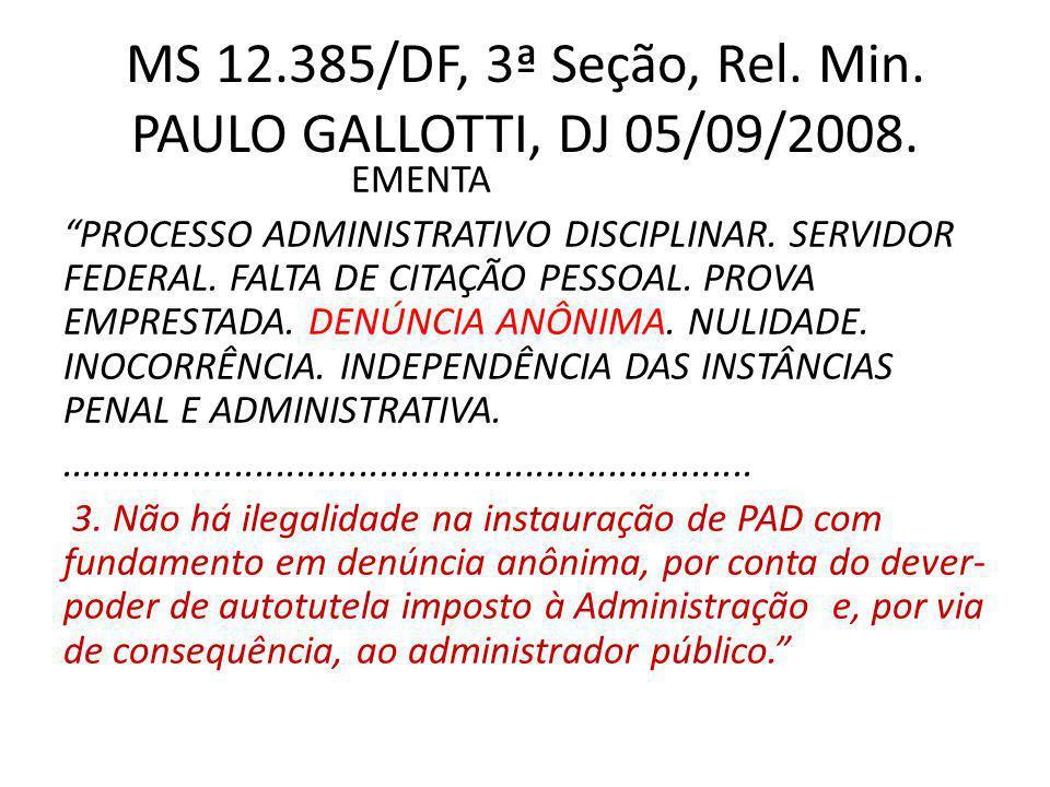 RMS 19.224/MT, 5ª Turma, Rel.Min. FELIX FISCHER, DJ de 1º/07/2005.