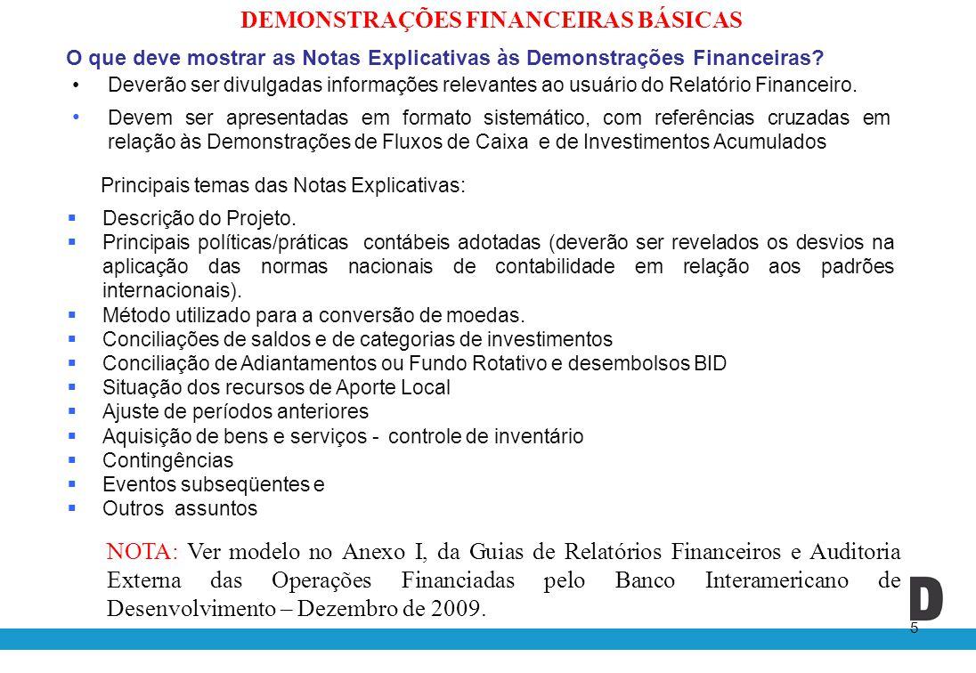 De quem é a responsábilidade pela elaboração das Demonstrações Financeiras.