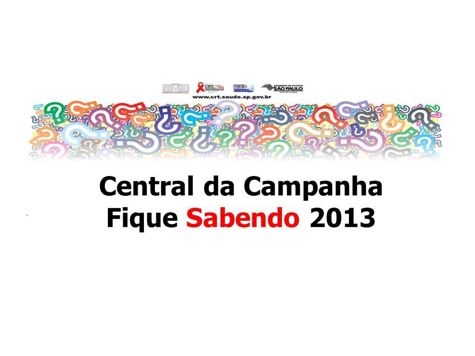 Central da Campanha Fique Sabendo 2013