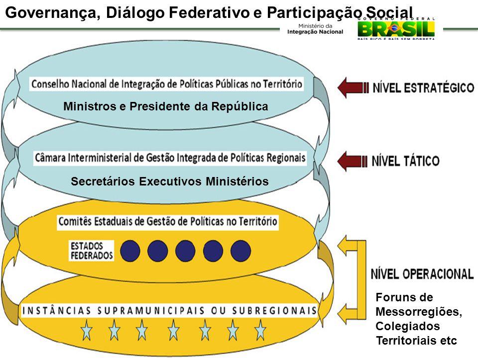 Enormes desafios em termos de governança: concepção e implantação de mecanismos democráticos de participação social, modelos de gestão, montagem e apl