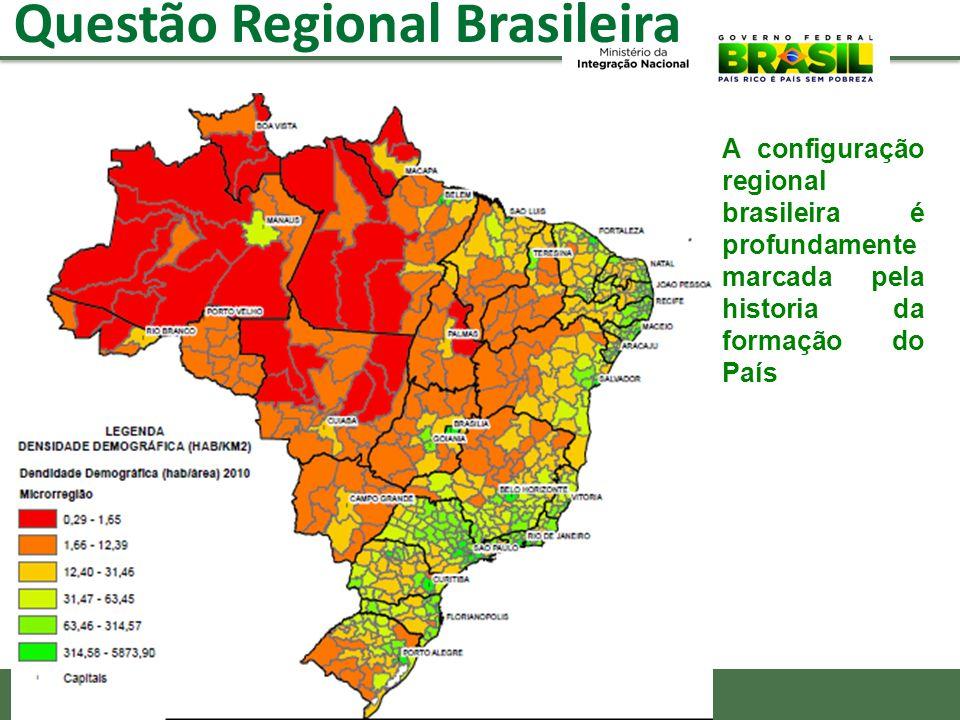 Mas 2 Pilares fundamentais da PNDR se frustraram: O Fundo Nacional de Desenvolvimento Regional – FNDR (para atuar em todo o Brasil e combinando recursos de financiamento com não reembolsáveis) A Câmara de Políticas de Integração Nacional de Desenvolvimento Regional.