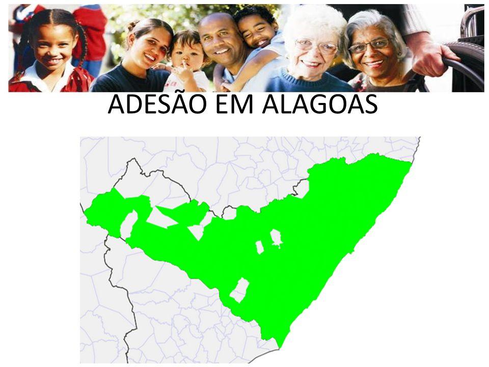 ADESÃO EM ALAGOAS