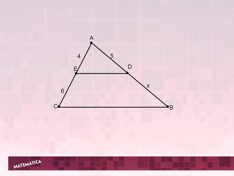 A C B D E 4 6 5 x