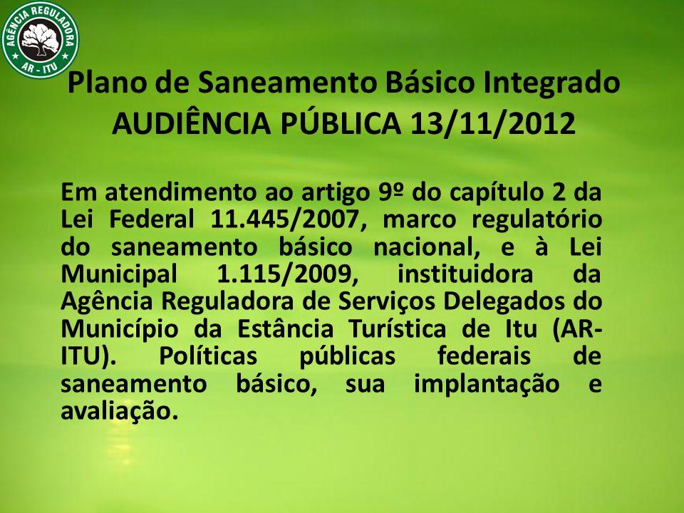 SEDE Sistema de Coleta Cerca de 96% da área urbana do município 405km de tubulação.