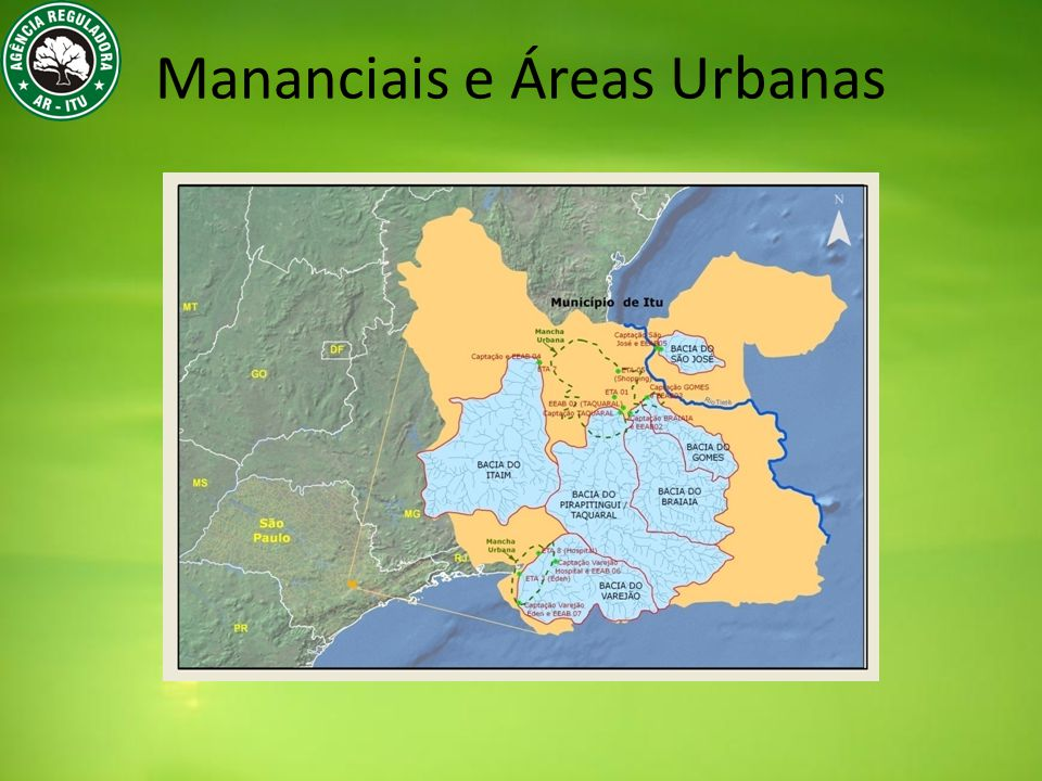 Mananciais e Áreas Urbanas