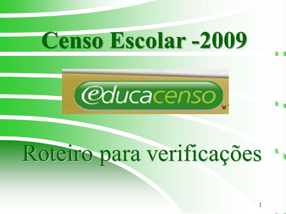 2 OBSERVAÇÕES 1.Utilizar o Navegador Mozilla Firefox 2.Endereço: www.educacenso.inep.gov.br 3.A conferência e correção dos dados das escolas estaduais no Sistema Educacenso devem ser realizadas pelas Diretorias de Ensino.