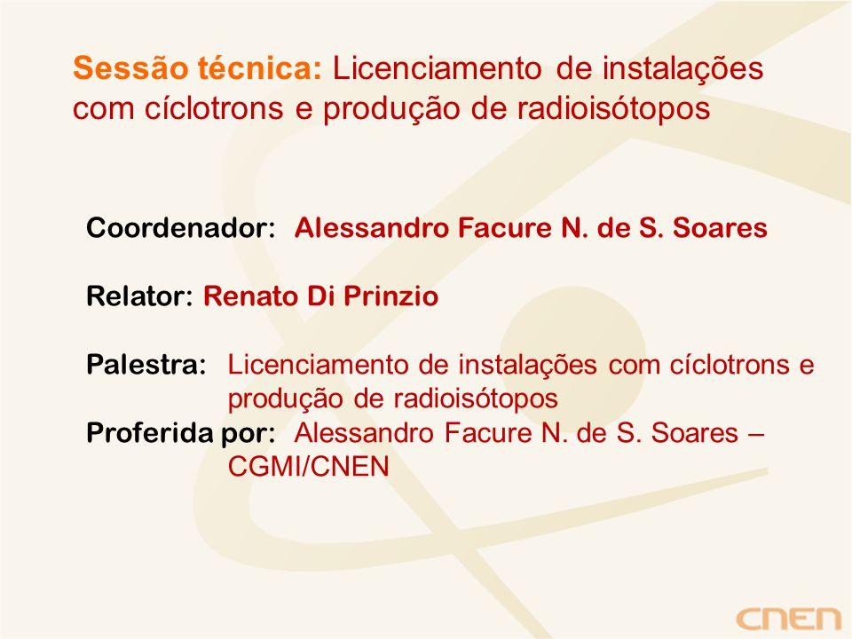 Coordenador:Alessandro Facure N. de S.
