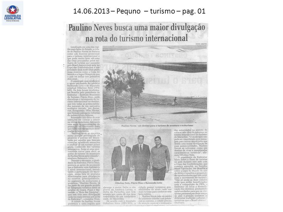 14.06.2013 – Pequno – turismo – pag. 01