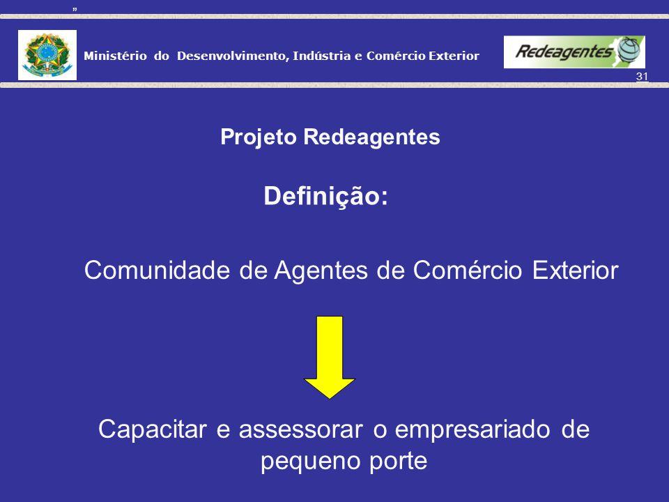Ministério do Desenvolvimento, Indústria e Comércio Exterior 30 Seminários - Despachos Executivos - Balcão de serviços Nº DE EVENTOSNº PARTICIPANTESNº