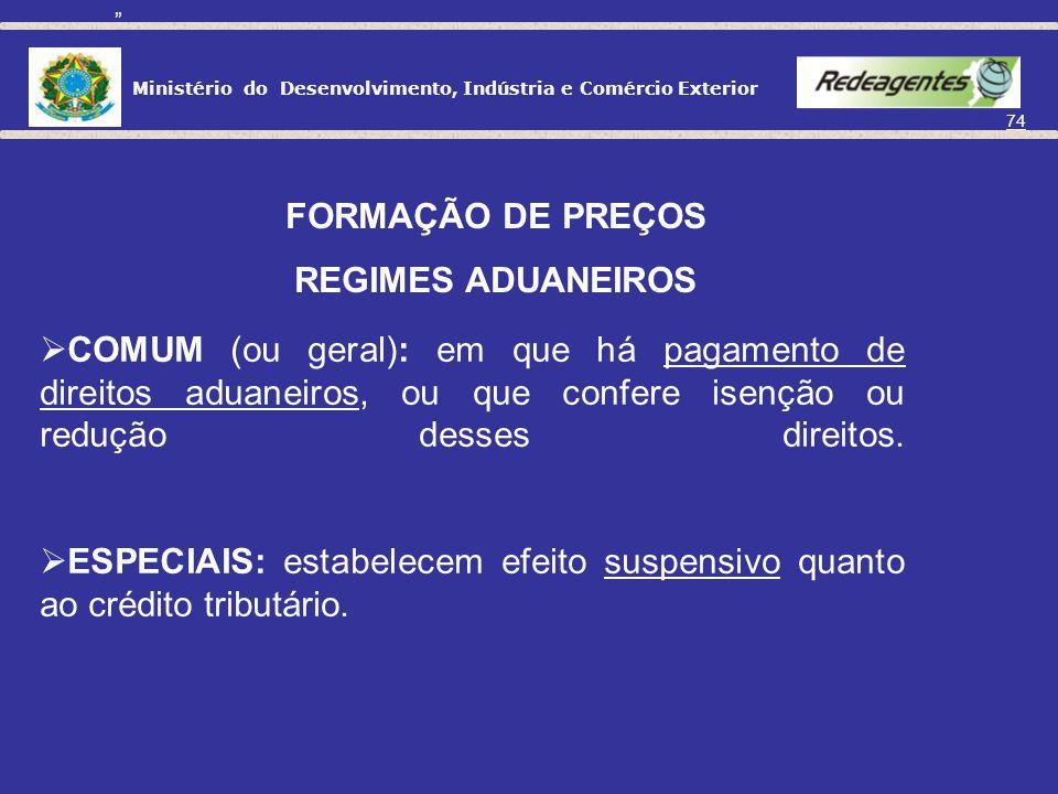 Ministério do Desenvolvimento, Indústria e Comércio Exterior 73 TERRITÓRIO NACIONAL Eventualmente IE ICMSIPI PIS/COFINS TERRITÓRIO INTERNACIONAL