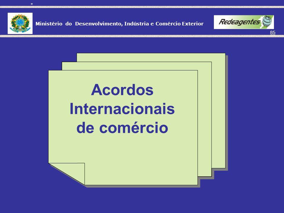 Ministério do Desenvolvimento, Indústria e Comércio Exterior 84 Para Fornecimento no Mercado Interno (Suspensão): Importação de matérias-primas, produ