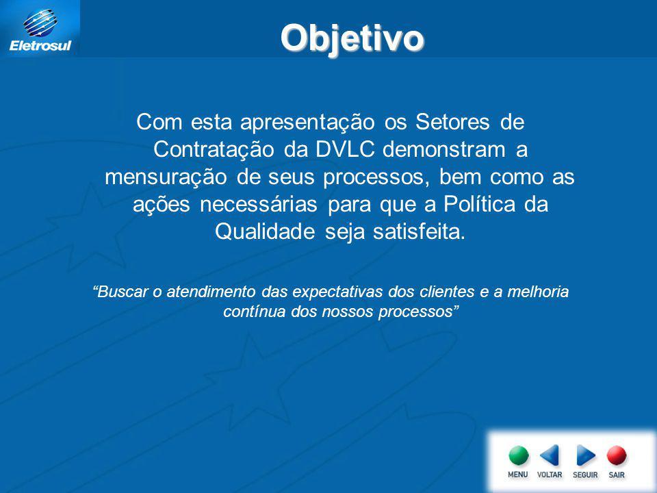 Indicadores de Desempenho DVLC Abril/2008 Rodrigo de Oliveira Fernandes Data: 15/05/2008 Departamento de Suprimentos e Infra-estrutura Divisão de Lici