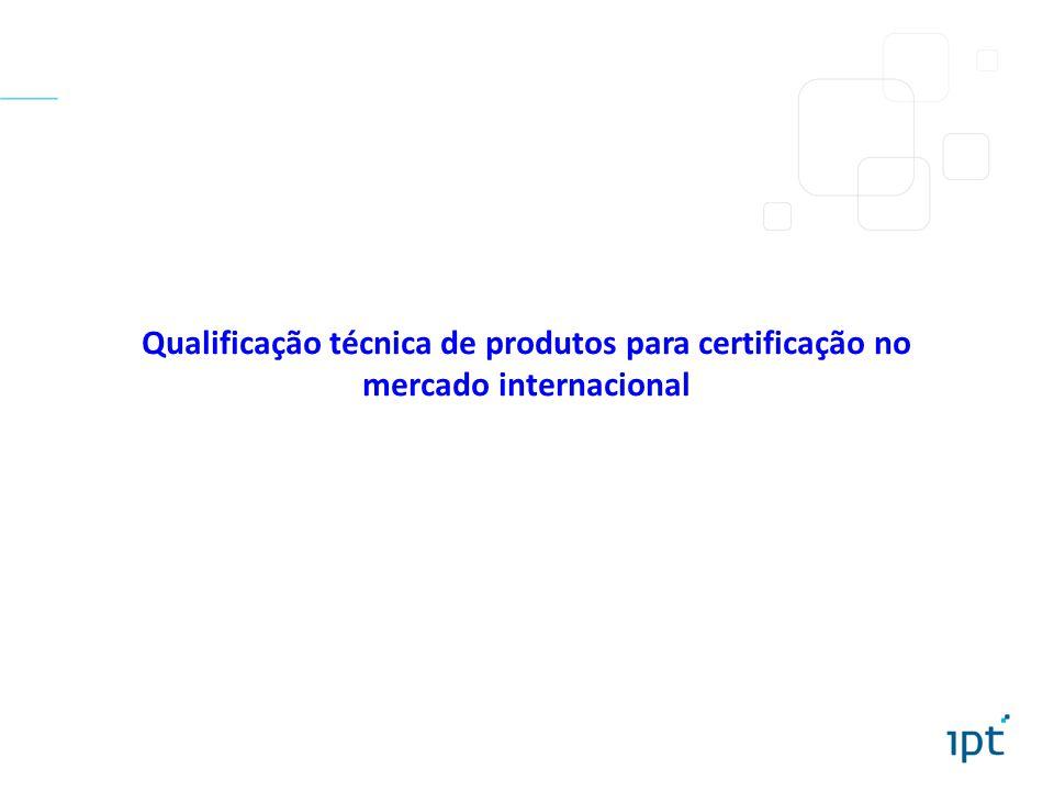 Qualificação técnica de produtos para certificação no mercado internacional