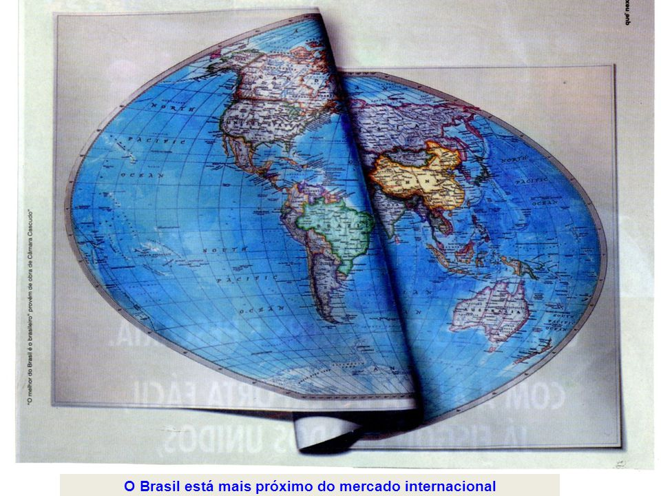 10anos O Brasil está mais próximo do mercado internacional