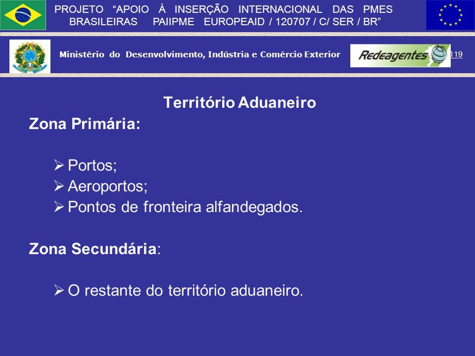 Ministério do Desenvolvimento, Indústria e Comércio Exterior 118 PROJETO APOIO À INSERÇÃO INTERNACIONAL DAS PMES BRASILEIRAS PAIIPME EUROPEAID / 12070