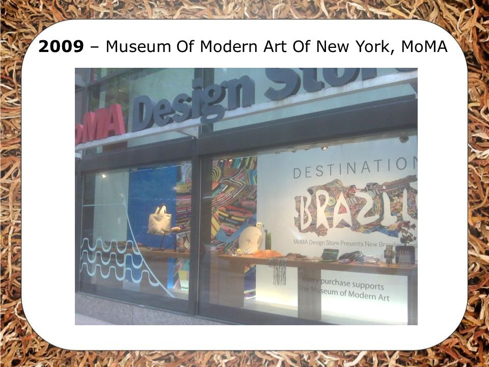 2009 – Museum Of Modern Art Of New York, MoMA