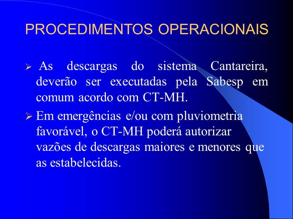 Recomenda-se que a Outorgada (Sabesp) elabore e execute um plano emergencial de recuperação, a partir de outubro de 2004 até atingir uma reservação no