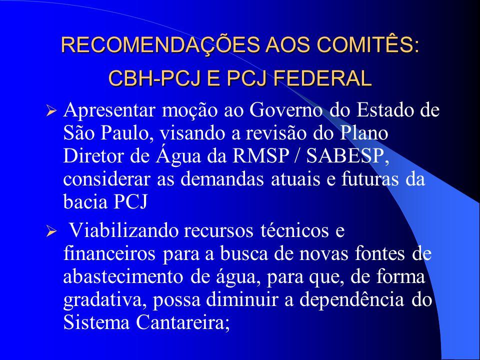 Recomenda-se que os acordos citados anteriormente sejam transformados em Termos de Compromisso.