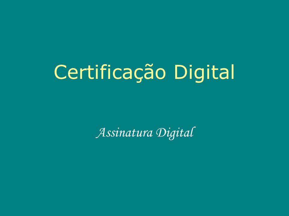 A certificação digital é uma tecnologia que vem garantir o sigilo de documentos e a privacidade na correspondência de empresas e pessoas, além de impedir a adulteração destes nos caminhos da Internet.