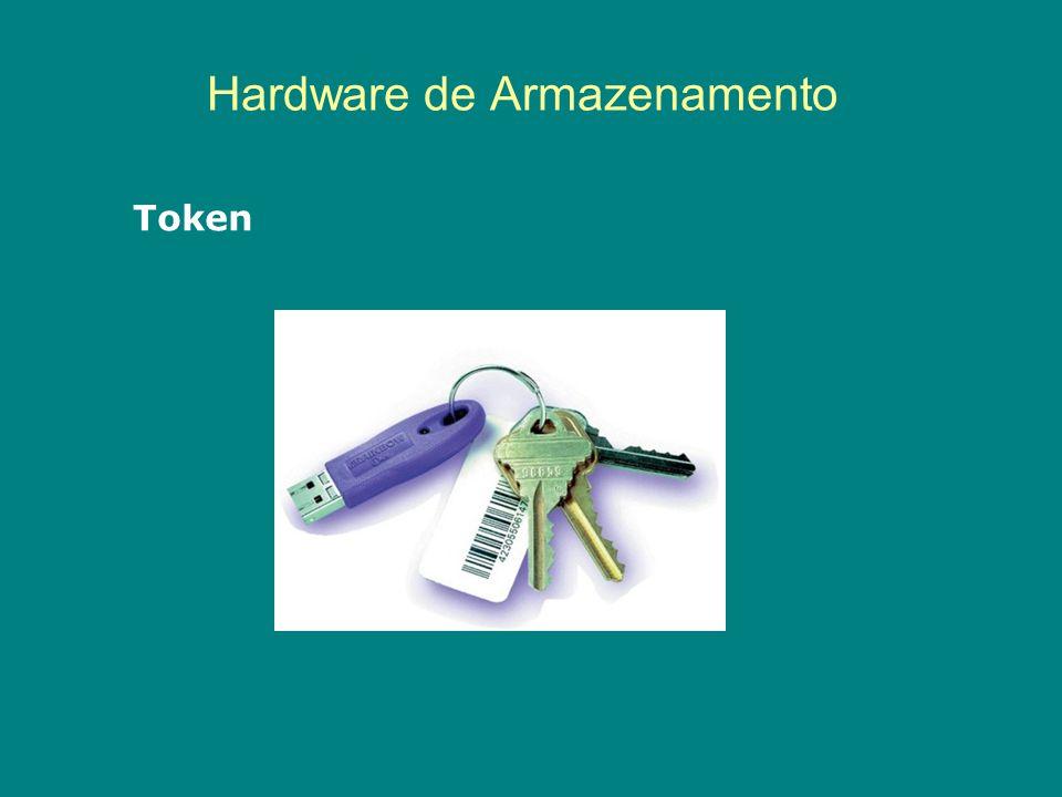 Hardware de Armazenamento Token