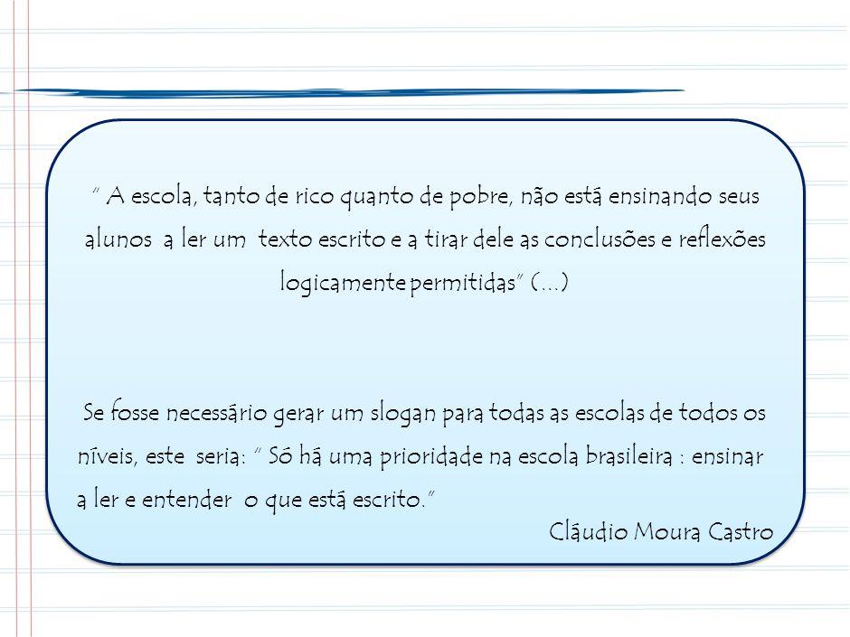 32 30 2007 41 23 2008 51 18 2009 61 13 2010 100% Metas Minas Gerais para o período 2008-2010 no Ensino Médio – Língua Portuguesa Recomendável Intermediário Baixo PROEB Língua Portuguesa 3º ano EM 274 xxx Proficiência 286 299312