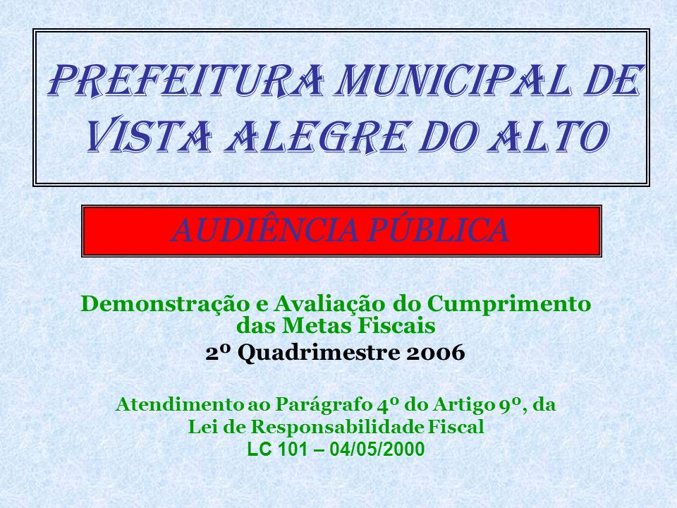ENDIVIDAMENTO (Limite Legal – Arts.3º e 4º Res.