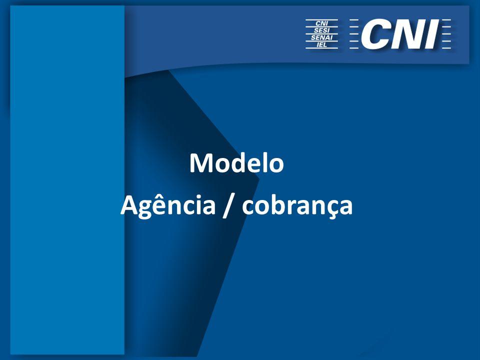Modelo Agência / cobrança
