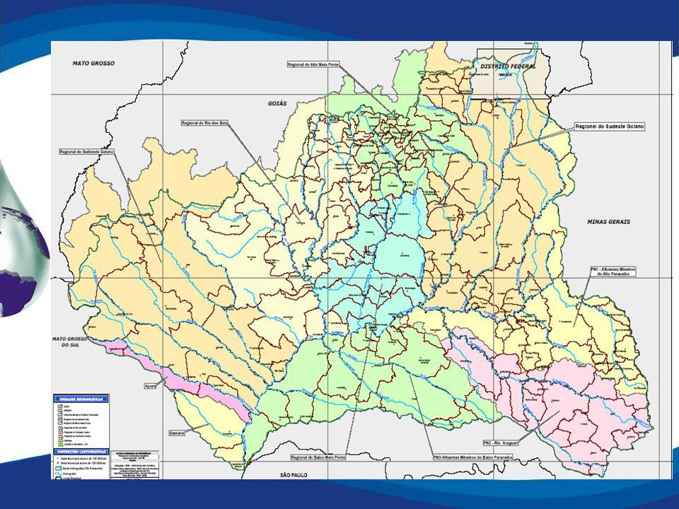 Aporte de recursos Iniciativa privada - CCBE; Convênio estruturador (2007 / 2008); Elaboração do Plano de Recursos Hídricos (2008).