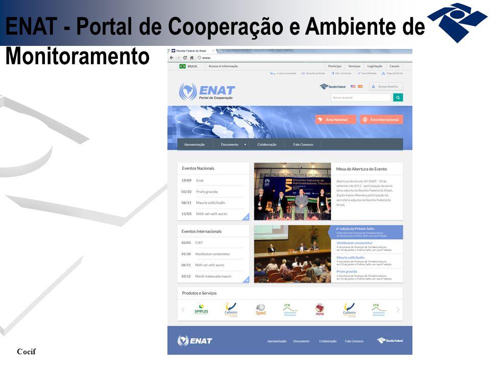 Cocif ENAT - Portal de Cooperação e Ambiente de Monitoramento