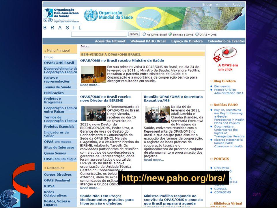 2011 http://new.paho.org/bra/