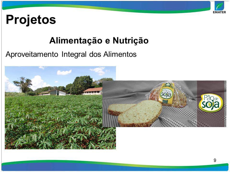 9 Aproveitamento Integral dos Alimentos Projetos Alimentação e Nutrição