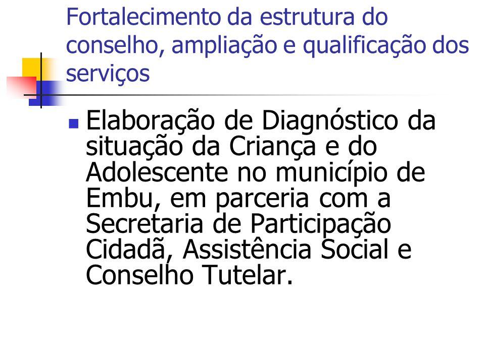 Propostas da Comissão do Diagnóstico Potencializar a atuação dos CRAS nos territórios, uma vez que seu principal foco de atuação está no fortalecimento das relações familiares.