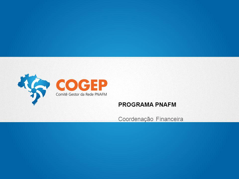 PROGRAMA PNAFM Coordenação Financeira