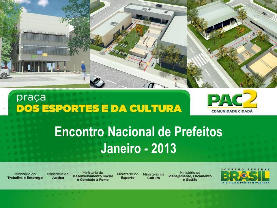 Encontro Nacional de Prefeitos Janeiro - 2013