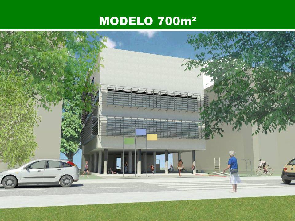 Modelo 700m² MODELO 700m²