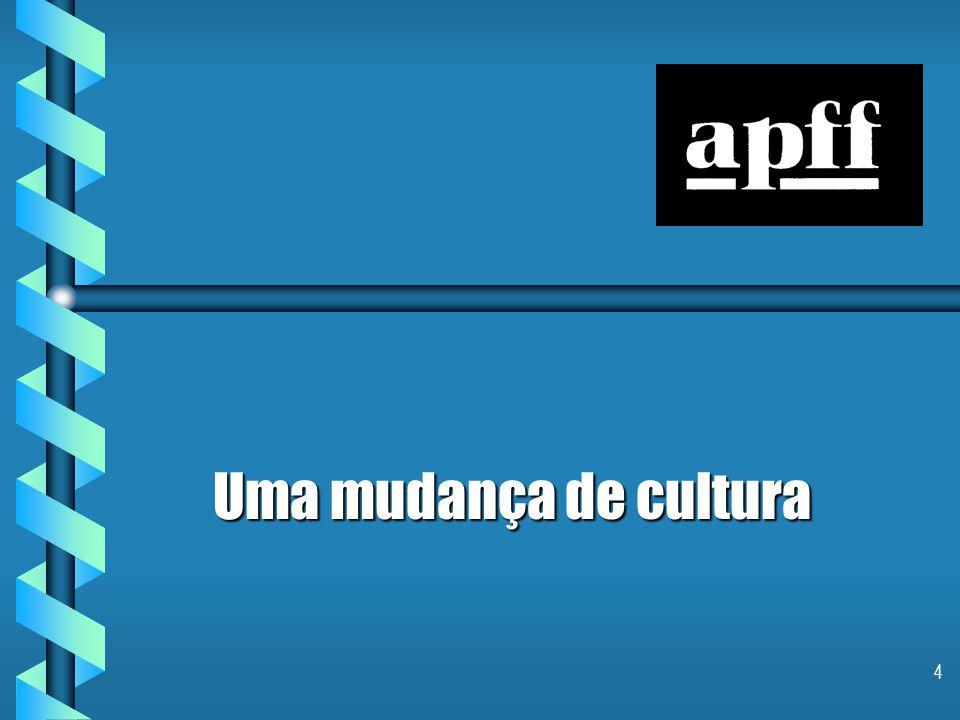 4 Uma mudança de cultura