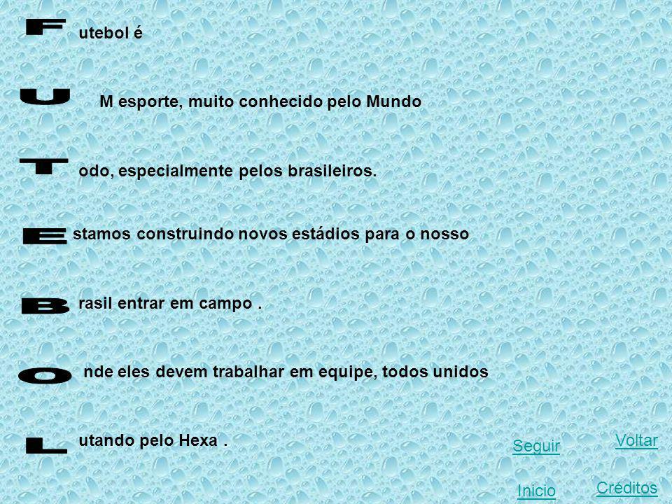 utebol é M esporte, muito conhecido pelo Mundo odo, especialmente pelos brasileiros.