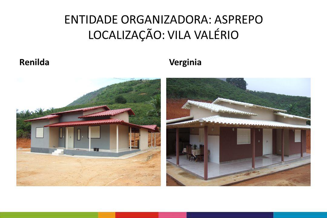 ENTIDADE ORGANIZADORA: ASPREPO LOCALIZAÇÃO: VILA VALÉRIO RenildaVerginia