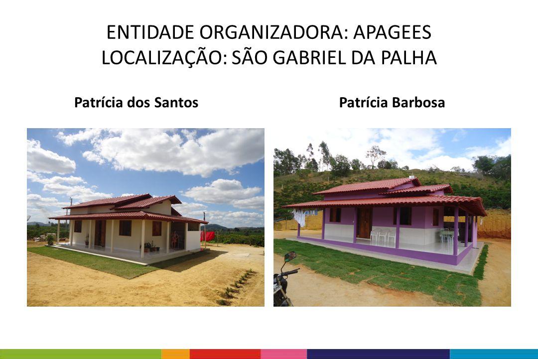 ENTIDADE ORGANIZADORA: APAGEES LOCALIZAÇÃO: SÃO GABRIEL DA PALHA Virgilio